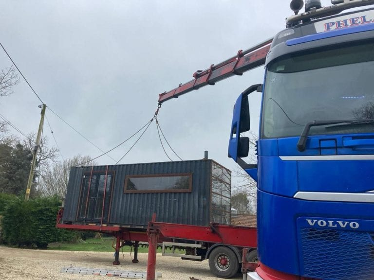 Seahouses To The South West – Container Restaurant Hiab Hire