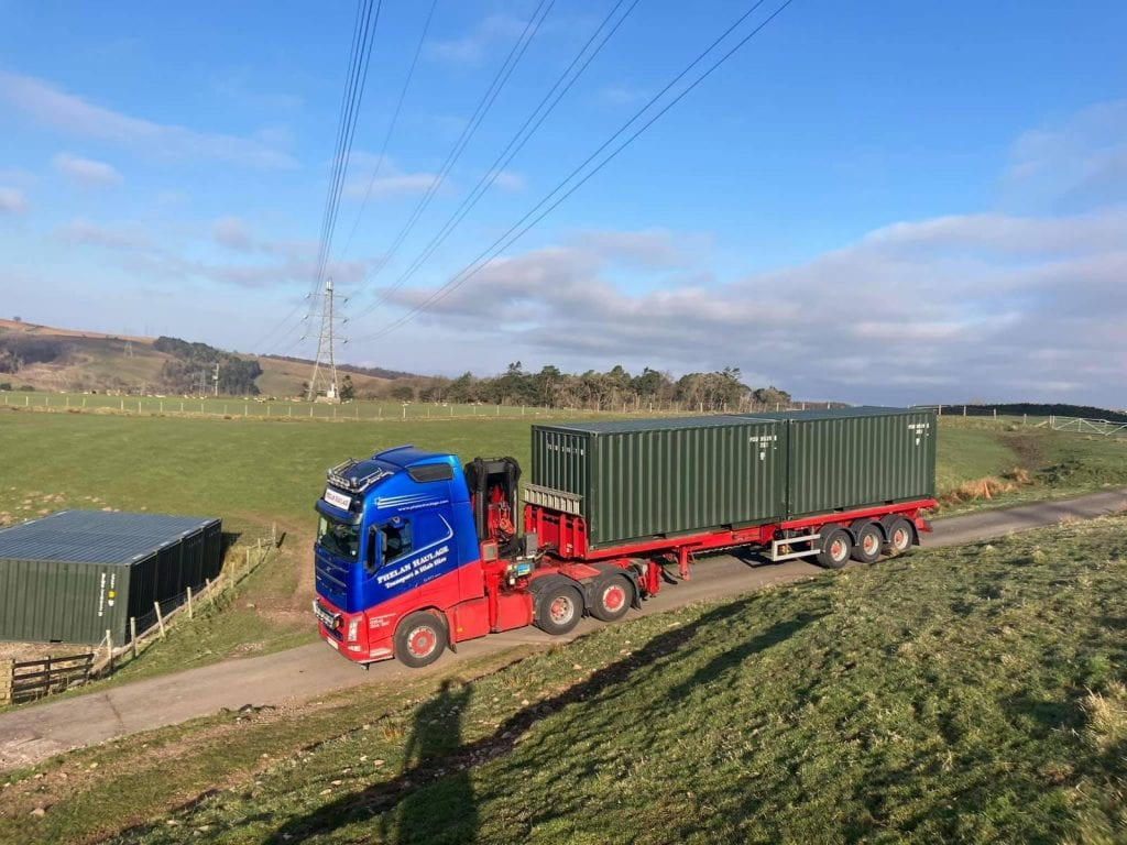 20ft Shipping Container  Cost and Transport